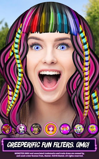 Monster High™ Beauty Shop: Fangtastic Fashion Game - screenshot