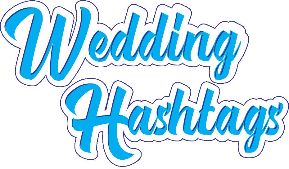 Wedding Hashtags Logo