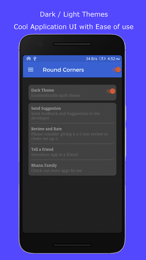 Round Corners Lite- screenshot