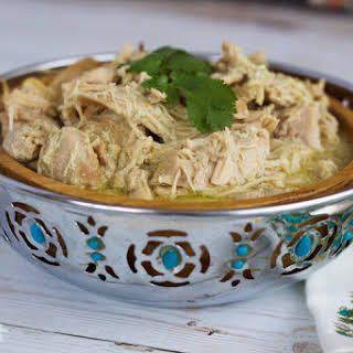 Easy Slow Cooker Chicken Curry.