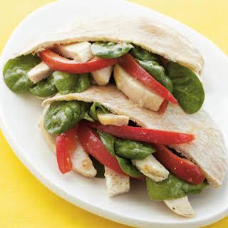 Chicken Pita Sandwich.