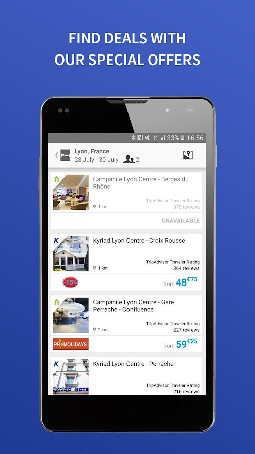 HotelForYou - hotel booking- screenshot