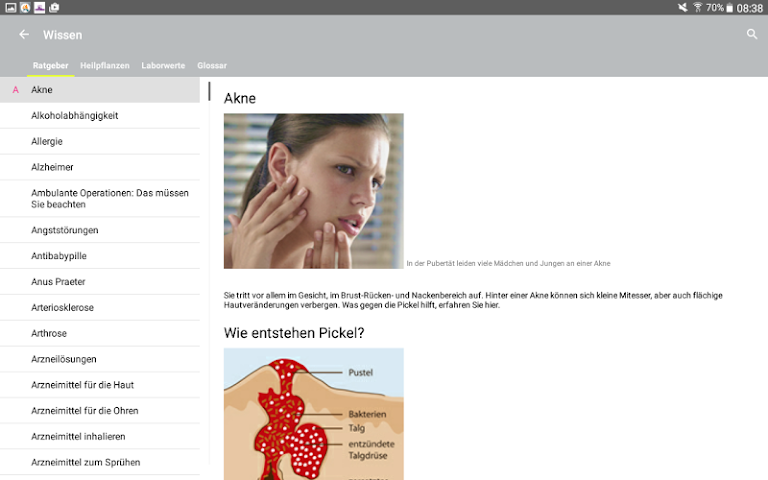 android Alte Apotheke Heroldsberg Screenshot 13