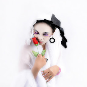 the last rose by Arief Siswandhono - People Portraits of Women