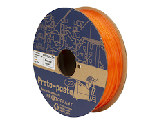Proto-Pasta Translucent Turkish Poppy Orange HTPLA - 1.75mm (0.5kg)