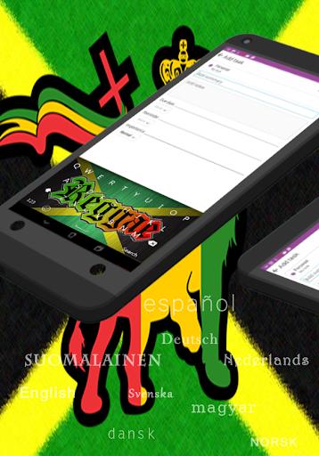 Regaton Jamaica Rasta Keybord|玩個人化App免費|玩APPs