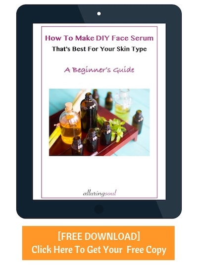 [Free Download] How to make DIY face serum for your skin type