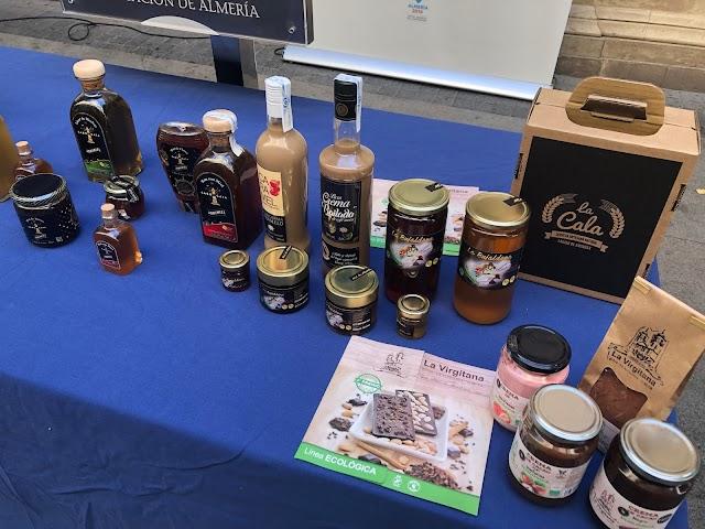 Algunos de los productos de Sabores Almería.