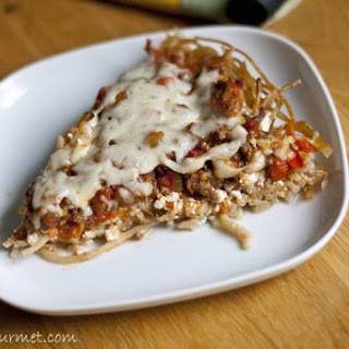 Spaghetti Pie Cottage Cheese No Meat Recipes