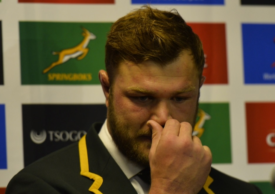 Duane Vermeulen to miss Rugby Champs confirmed after 'terrible' Boks stutter