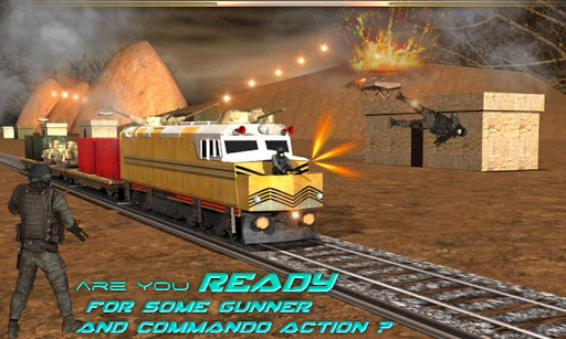 Gunship Train Army: Battle