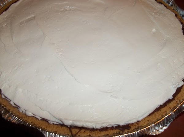 Spoon into crust. Refrigerate for 1 hour.
