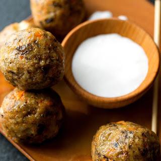 Buffalo Chicken Meatballs.