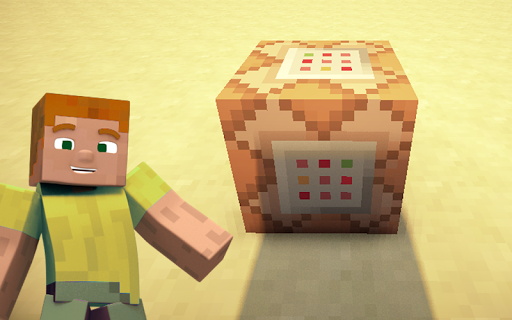 Command block for Minecraft