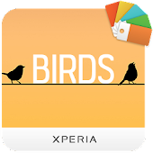 XPERIA™ Birds Theme