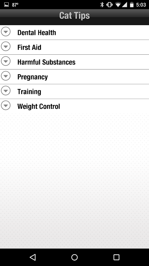 Purina Pet Health- screenshot
