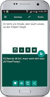 Dutch German Translate - náhled