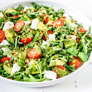 Pesto Garden Salad