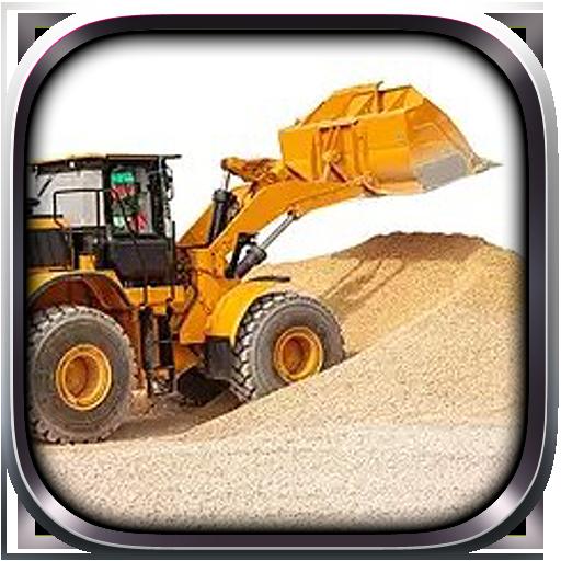 Tractor Sand Excavator Operate