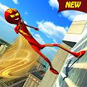 Rope Hero Crime City - Flash Stickman Speed Hero icon