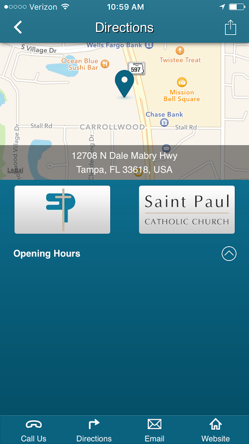 St. Paul Catholic - Tampa, FL- screenshot