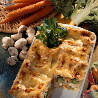 Leichte Frühlings-Lasagne