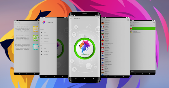 Free Lion Vpn – Free & Secure Fast & Unlimited VPN App Download For Android 1