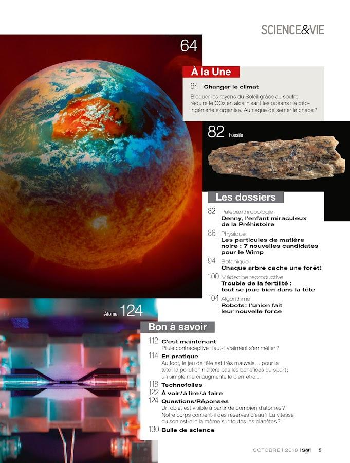 Science & Vie– Capture d'écran