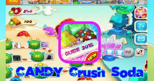 Guide Candy crush soda Saga 16