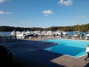 Photo: The marina at Joe Wheeler