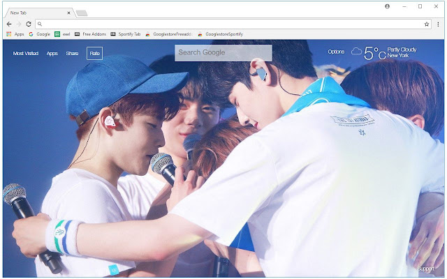 ASTRO Wallpapers Kpop New Tab Themes