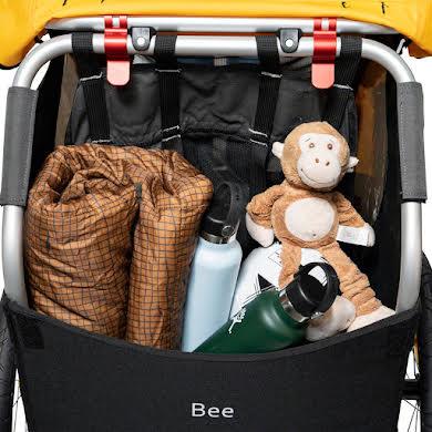 Burley Bee Child Trailer - Yellow alternate image 2
