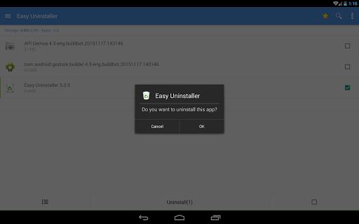 Easy Uninstaller App Uninstall 3.3.6 Screenshots 11