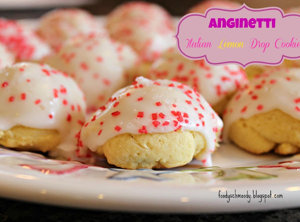 Anginetti - Italian Lemon Drop Cookies Recipe