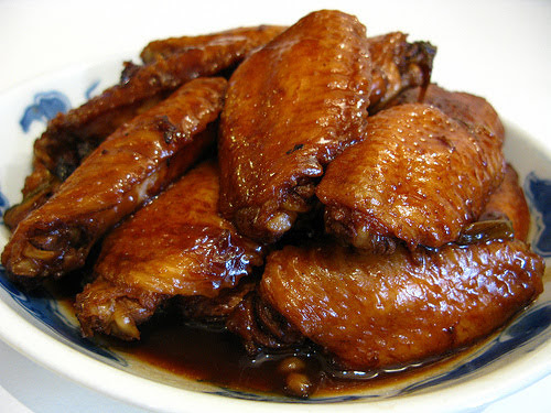 soy sauce red cooked chicken wings