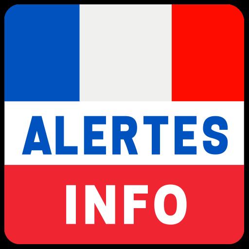 Alertes info: Actualité locale et alerte d'urgence Icon