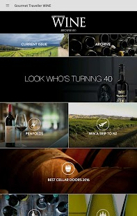 Gourmet Traveller WINE- screenshot thumbnail