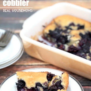 Blueberry Cobbler.