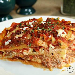 The Best Lasagna.