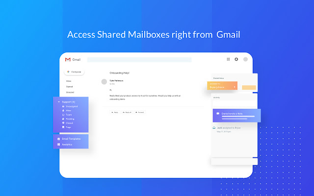 hiver shared mailboxes g suite marketplace