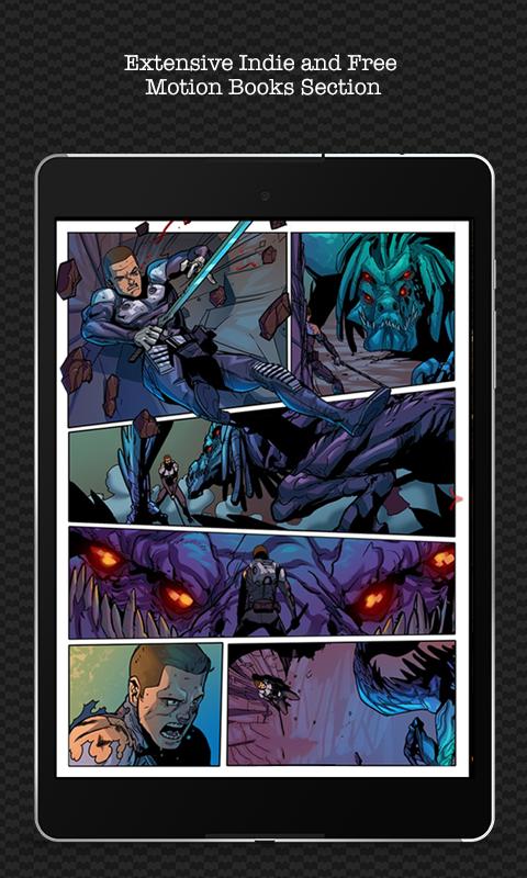 Madefire Comics & Motion Books screenshot #13