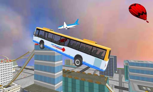 현대 시내 버스 지붕 점프