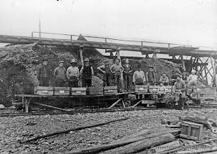 Photo: Ingelsgruvan-Springagruvan vasklag 1925