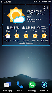Marshm ☀️ HD Weather Icons for Chronus screenshot for Android