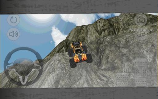 Monster Car Hill Climb