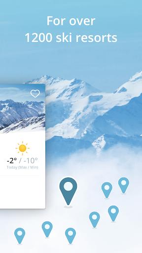 Snowthority: ski, snow, lift, slope map & ski info 1.36.0 screenshots 3