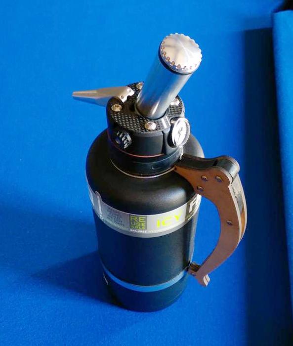 ANSYS Дозатор для газированных напитков фирмы Billet Designs, полностью спроектированный в SpaceClaim