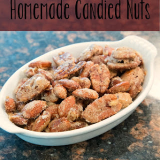 Holiday Candied Nut Mix