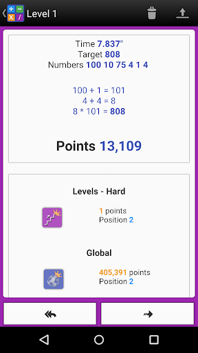 Numbers Game! 6 Countdown Math apktram screenshots 23