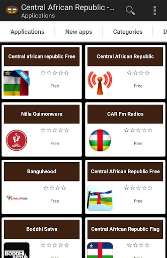 Central African apps